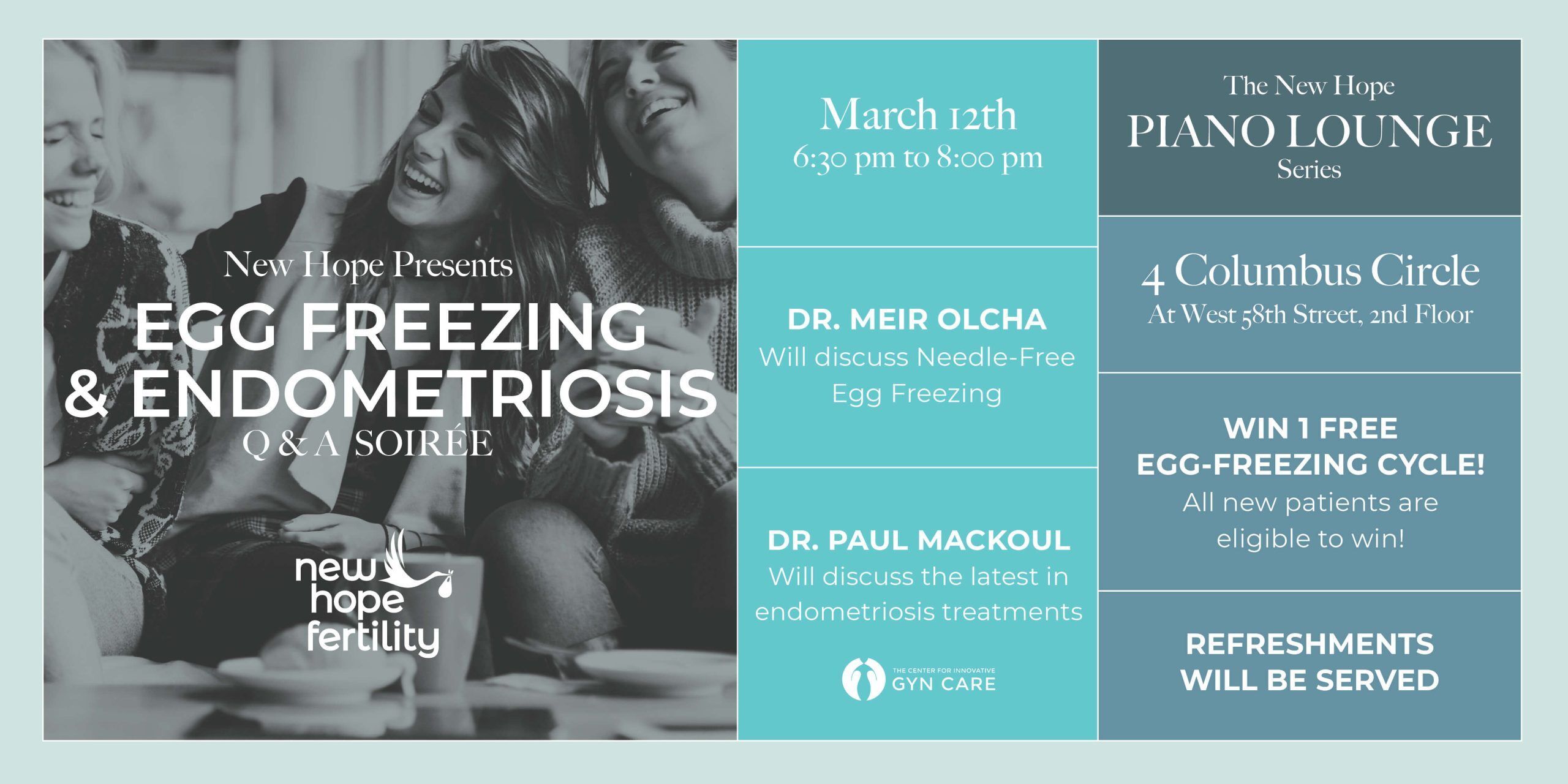 egg freezing event nyc